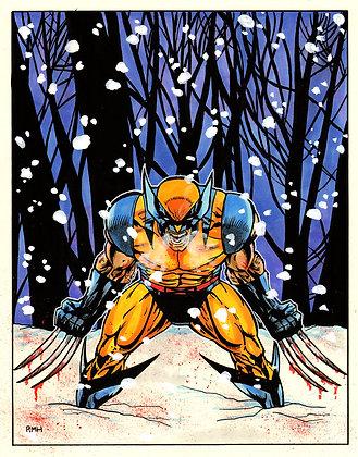 """Wolverine - 9"""" x 12"""""""