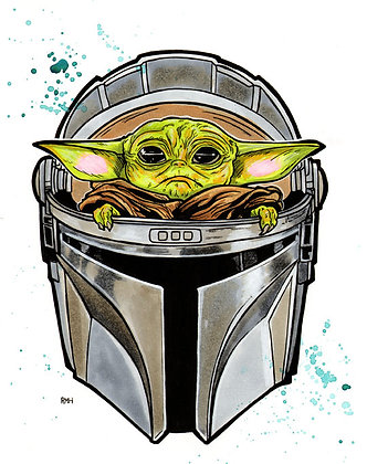 The Child - Mandalorian (Baby Yoda)