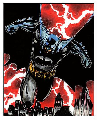 "Batman - 9"" x 12"""