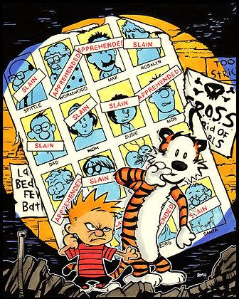 Calvin & Hobbes - X-Men 141