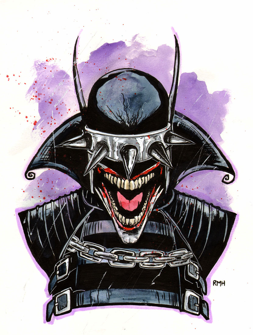 Art Batman Who Laughs Drawing