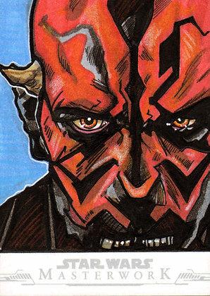 Topps - Star Wars Masterwork - Original Artist Proof Sketch Card