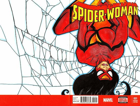 Spider-Woman- Original Sketch Cover