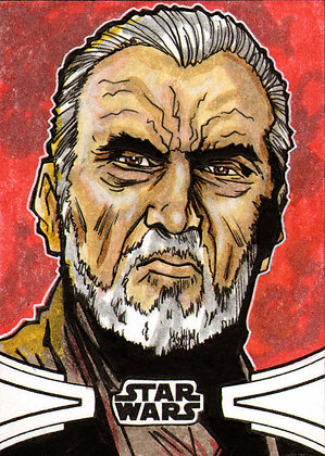 toppTopps - Star Wars Skywalker Saga - Original Sketch Card