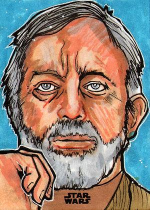 Topps - Star Wars Finest - Original Sketch Card