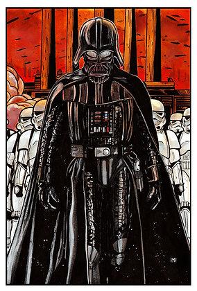 """Darth Vader - 11""""x 17"""""""