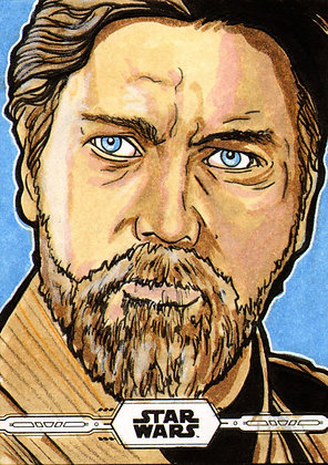 Topps - Star Wars Chrome- Original Artist Proof Sketch Card