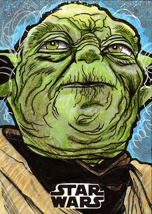 Topps - Star Wars Galaxy - Original Artist Proof Sketch Card
