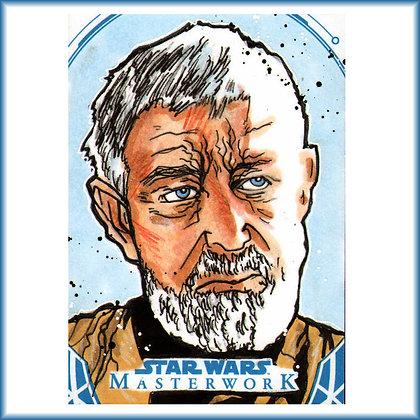 Topps - Star Wars Masterwork - Original Sketch Card - Obi-Wan
