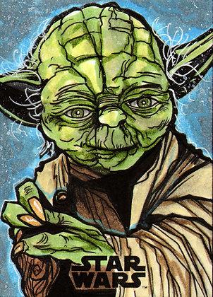 Topps - Star Wars Galaxy - Original Artist Proof Sketch Card