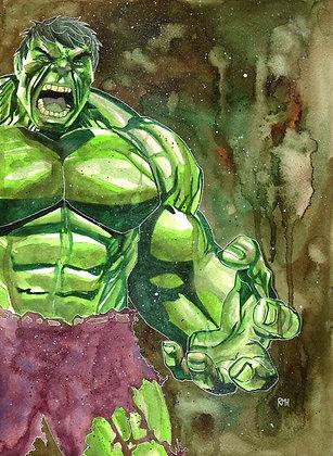 Hulk - 11 x 15 - Painting