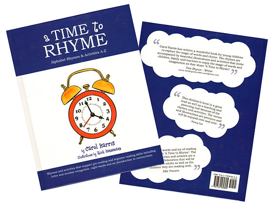 A Time to Rhyme: Alphabet Rhymes & Activities A-Z