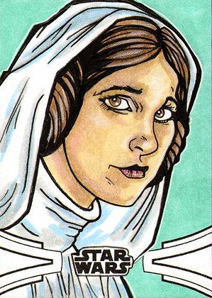 Topps - Star Wars Skywalker Saga - Original Sketch Card