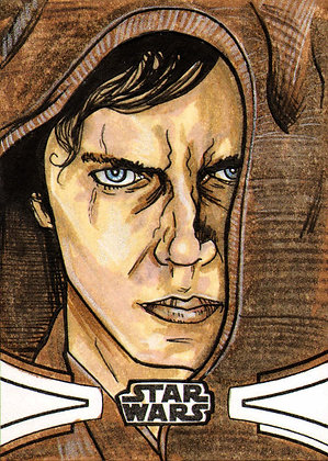 Topps - Star Wars Skywalker Saga - Original Sketch Card
