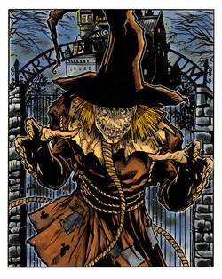 Scarecrow - copic - 9x12