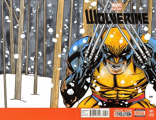 Wolverine - Original Sketch Cover
