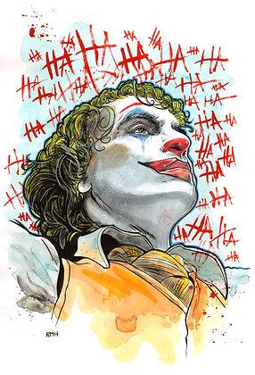 "Joker - Joaquin Phoenix - 11"" x 17"""