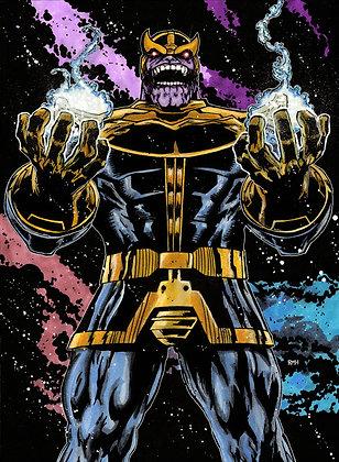 """Thanos - 11"""" x 15"""""""