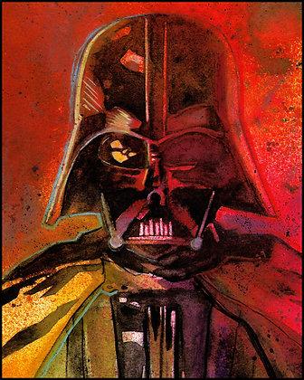 "Darth Vader - 8"" x 10"" Print"