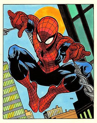 Spider-Man Print - 8x10