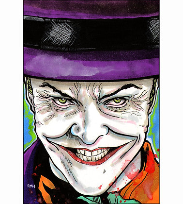 "Joker (Batman'89) - 4"" x 6"""