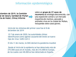 Información  epidemiológica Covid-19