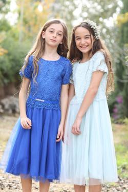 שמלות בכחול ותכלת