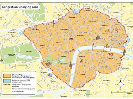 伦敦拥堵收费政策及其对交通安全的影响