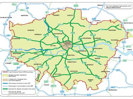 从交通低排放区政策看空气污染治理