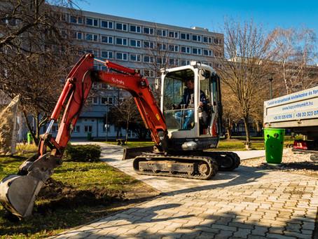 Korszerű irányítótábla-rendszert építenek ki a Széchenyi István Egyetem győri campusán