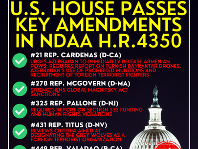 BREAKING: House Passes Decisive Amendments to the NDAA (H.R. 4350)