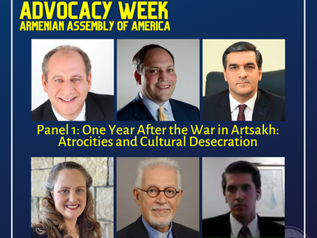 Assembly's Fall Virtual Advocacy Conference Kicks Off with Panels on Artsakh, Christians in Peril