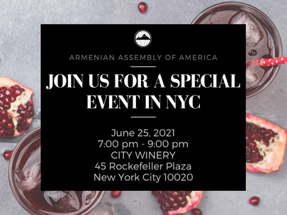 Armenian Assembly's NYC In-Person Networking Mixer