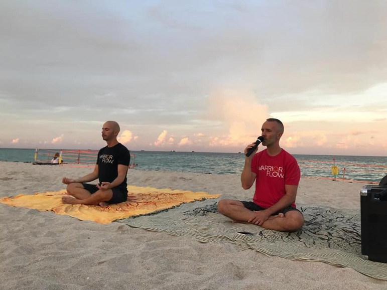 Full Moon Beach Yoga and Meditation