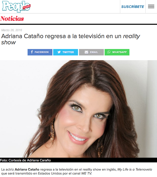 Adriana Catano People en Español