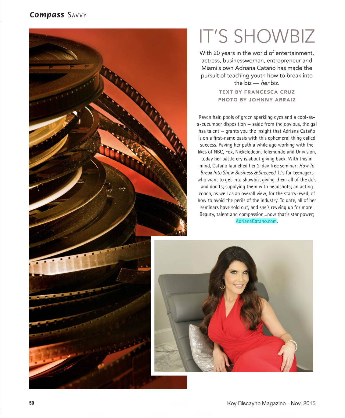 Key Biscayne Magazine - Nov 2015