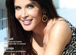 Adriana Cataño graces the cover of Gente Latina