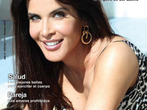 Adriana Cataño graces the cover of Gente Latina
