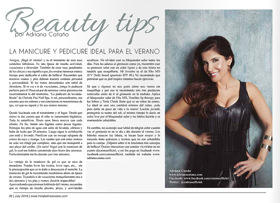 Beauty Tips Hola Latinos