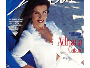Adriana Cataño on the cover of Selecta Magazine