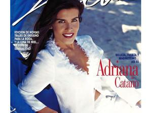 Adriana Cataño on the cover of Selecta Magazine