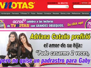 ADRIANA CATAÑO NO QUERÍA UN PADRASTRO PARA SU HIJA ¡Y RECHAZÓ CASARSE 2 VECES!
