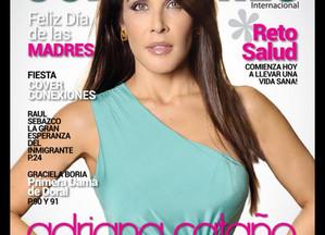 Adriana Cataño Graces the cover of Conexiones International