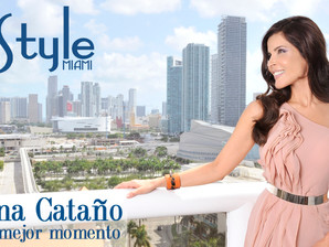 Adriana Cataño graces the covers of two leading latin publications this month