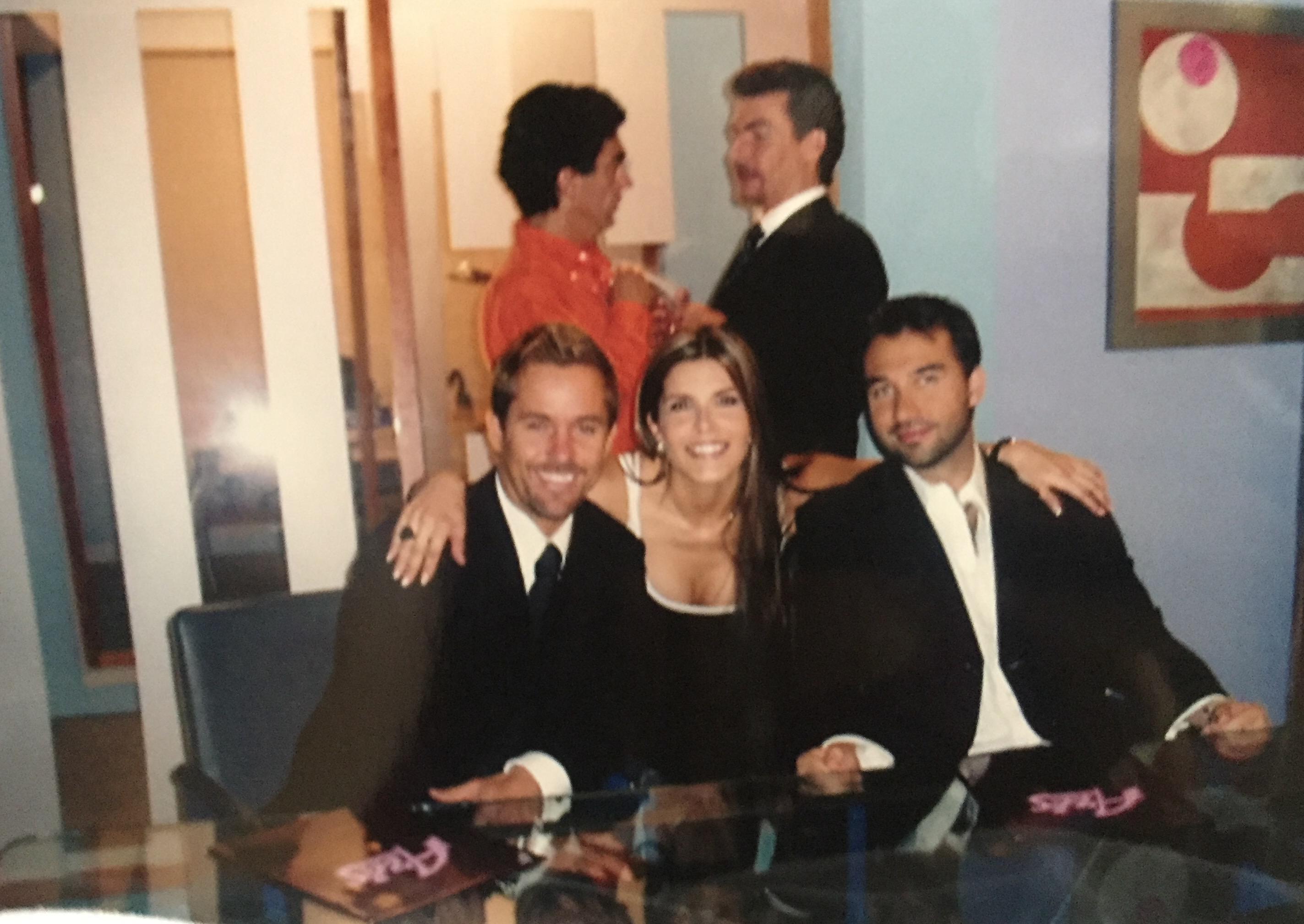 """amigos actores en """"Belinda"""" TV Aztec"""
