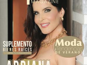 Adriana Cataño en la Portada de Epiko Magazine