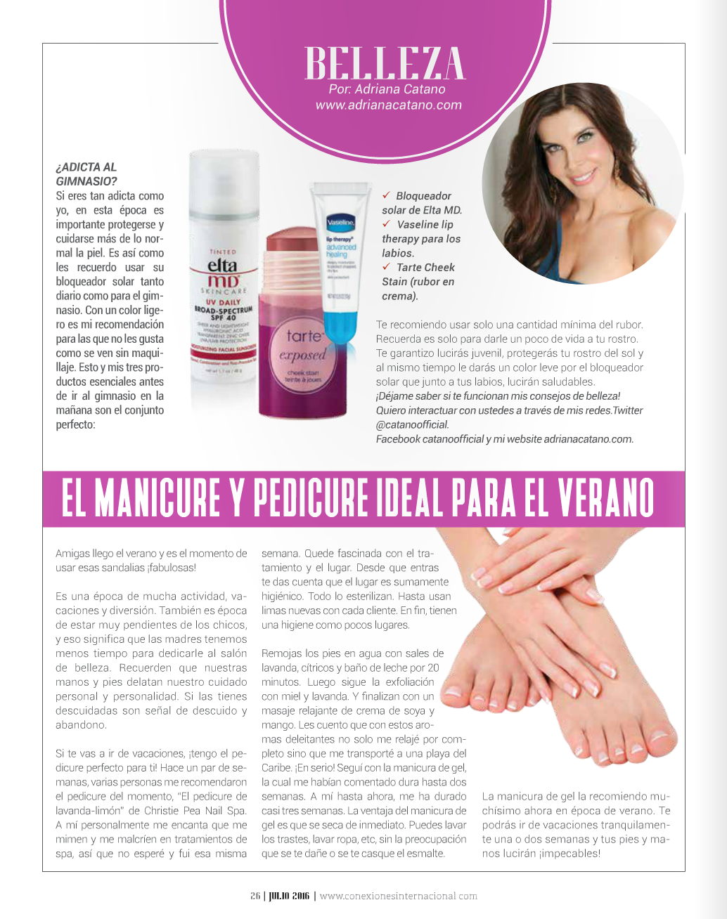 Beauty Tips Conexiones Internacional