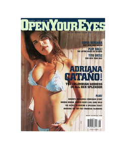 Open Your Eyes Cover USA edition
