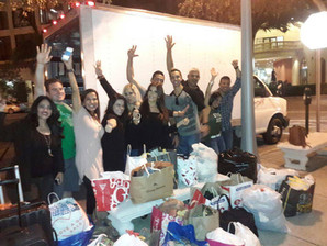 THE CLOTHING DRIVE FOR LOTUS HOUSE ORGANIZED BY #TEAMHUMANITYMIAMI WAS A HUGE SUCCESS