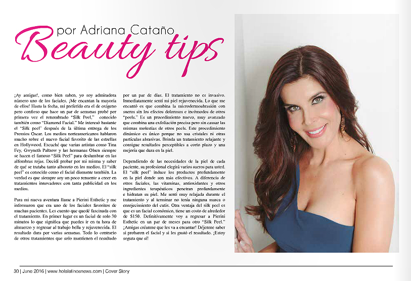 Beauty Tips Hola Latinos June 2016